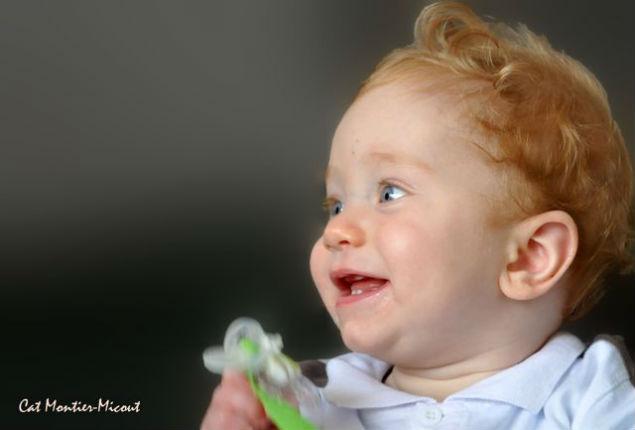 sourire d`enfant