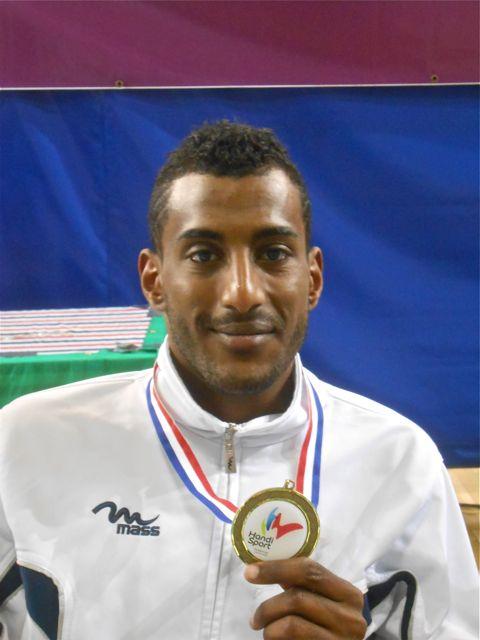 Marius médaille de bronze championnat de France 2012