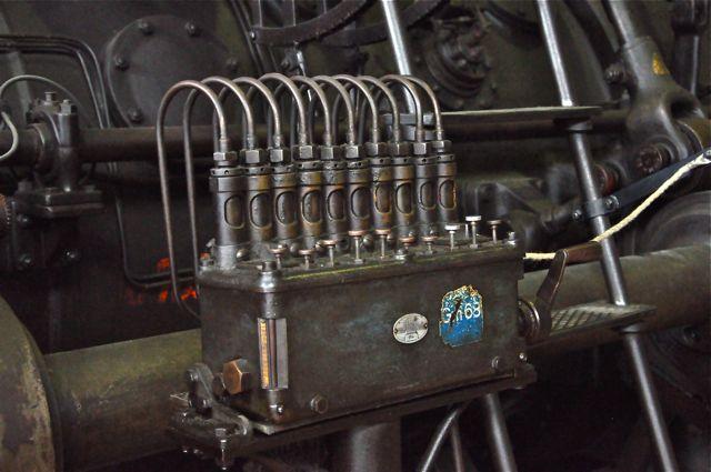 Vlklinger-Htte usine sidérurgique-musée pistons salle des soufflantes